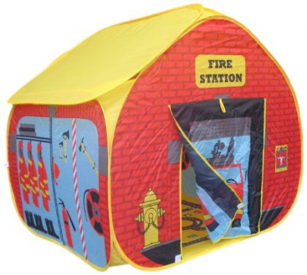 Pop It Up Fire Station Play Tent
